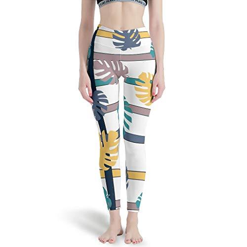 Generic Branded - Yoga-Hosen für Herren in weiß, Größe M