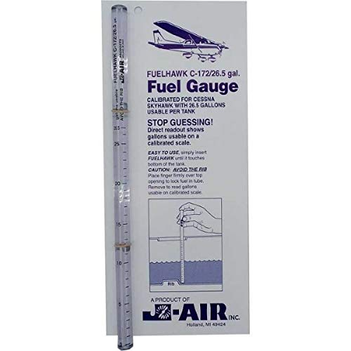 FuelHawk Fuel Gauges - Cessna 172 - 26.5 Gallon