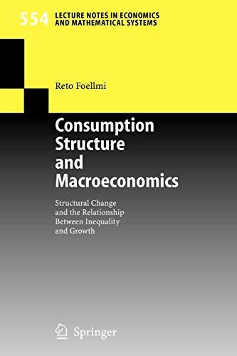 Consumption Structure and Macroeconomics: Structural...