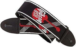 Gibson Gear ASGG-600 Tracolla Tessuta per Chitarra, Larghezza 5 cm, Poliestere, Rosso/Nero