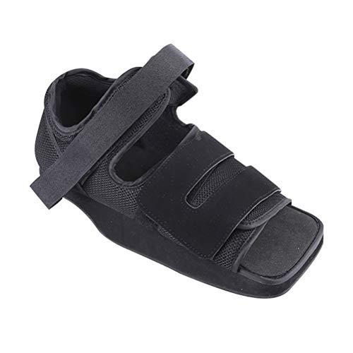 GFYWZ Fusioni Boot, Post Op Scarpe, di decompressione Fisso Scarpe, Riabilitazione del Tallone, Piede Frattura Le Dita dei Piedi Scarpe per la frattura di Recupero,S