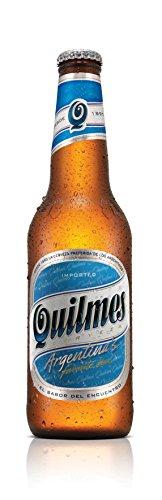 Quilmes Bier 12 x Flaschen Cristal 0,34l Argentinisches Bier Pilsener
