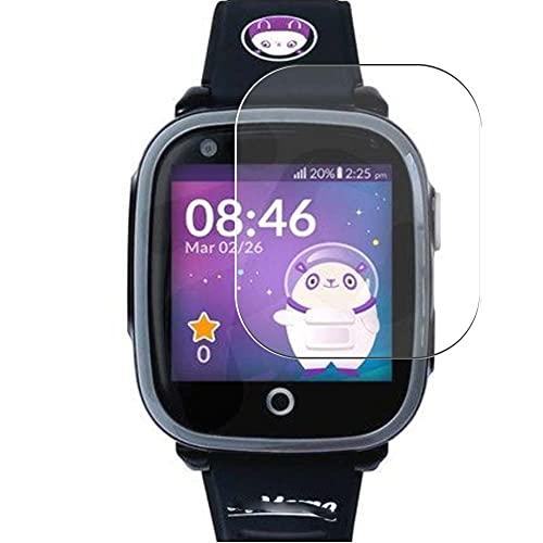 Vaxson 3 Stück Schutzfolie, kompatibel mit SOYMOMO SPACE 4G Smart Watch Smartwatch, Bildschirmschutzfolie TPU Folie [nicht Panzerglas/Hülle Hülle ]
