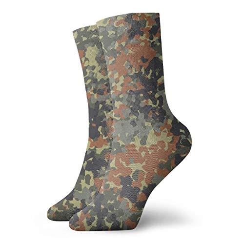 Bag hat Deutsch flecktarn camouflage fünf abstrakte klassische lange socken frauen & männer athletic hohe socken für gym wandern laufen zu hause strümpfe 11,8 zoll