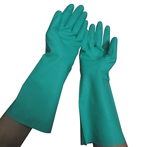 Tripop Heavy-Duty Nitrile Gloves, Household Cleaning Gloves...