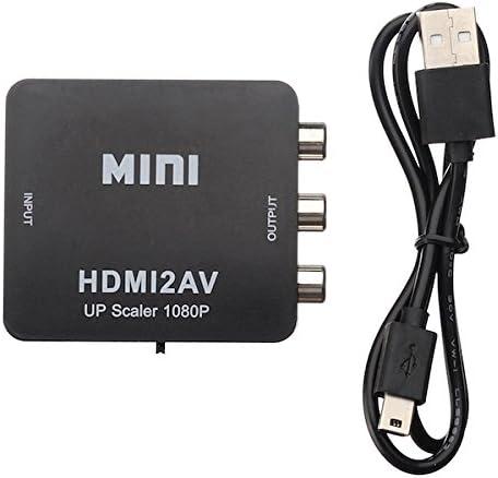 BisLinks Fixed price for sale Max 87% OFF Mini HDMI to AV Composite CVBS Audio Converte Video RCA