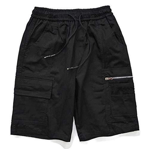 LHY- Shorts Mannen shorts zomer broek outdoor korte sportbroek fashion shorts Mode (Color : C, Size : L)