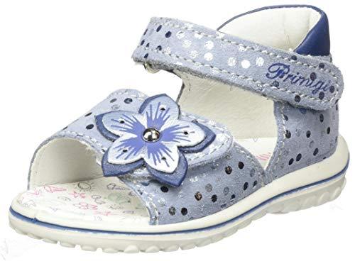 Primigi Sandalo Primi Passi Bambina, Azzurro Azzurro 5365222, 21 EU