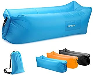 JSVER Air Sofa, Inflatable Loungers Inflatable Couch for Travelling, Outdoor, Camping, Hiking, Pool, Beach Parties, Picni...