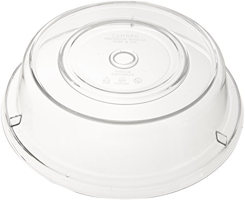 """Cambro 1005CW152 Clear 10-9/16""""m Camwear Camcover"""