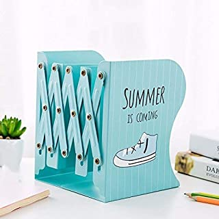 Mindruer Büro Buchstütze Einziehbares Buchstützen-Rahmen-faltendes Buch-Regal-Buch durch Buchstützen älterer Studenten Dritter (Farbe   Blau) B07PCQRRBW  Großer Verkauf