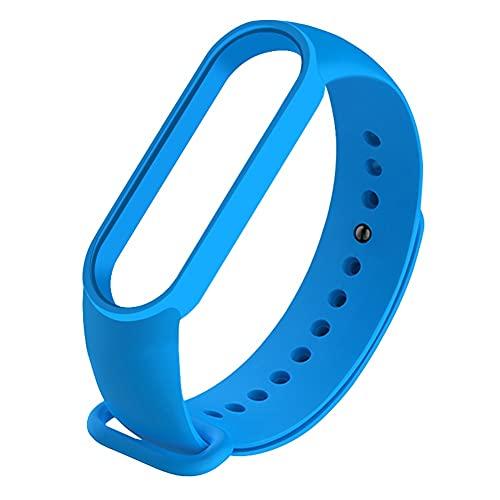 TRSX 1 * Reemplazo De Pulsera para Mi Band 5 / Mi Band 6, Coloridos Accesorios De Banda De Reloj De Pulsera De Silicona Suave Impermeable (Color : 22, Size : FOR MI Band 6)