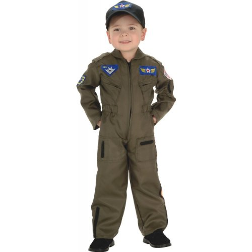 Rubie's Air Force Fighter Pilot Child Costume - Toddler