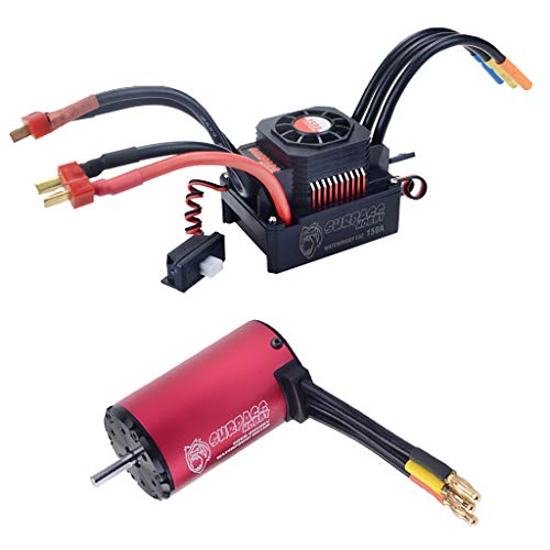 dailymall 1/8 RC Car 4068 2650KV Brushless Motor + 150A Brushless Regler