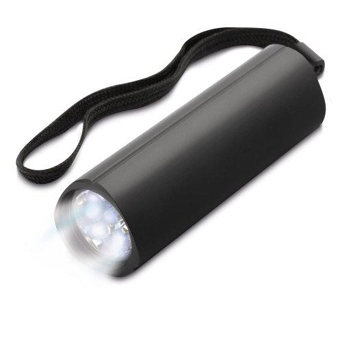 La Lampe ronde LEDE de poche, carrée, avec attache de poignet
