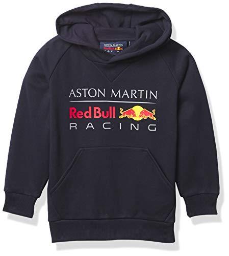 Fuel For Fans Formel-1-Sweatshirt für Jugendliche, Scuderia Ferrari, Rot, Größe M (32-39), Jungen, Navy, Youth S (8)