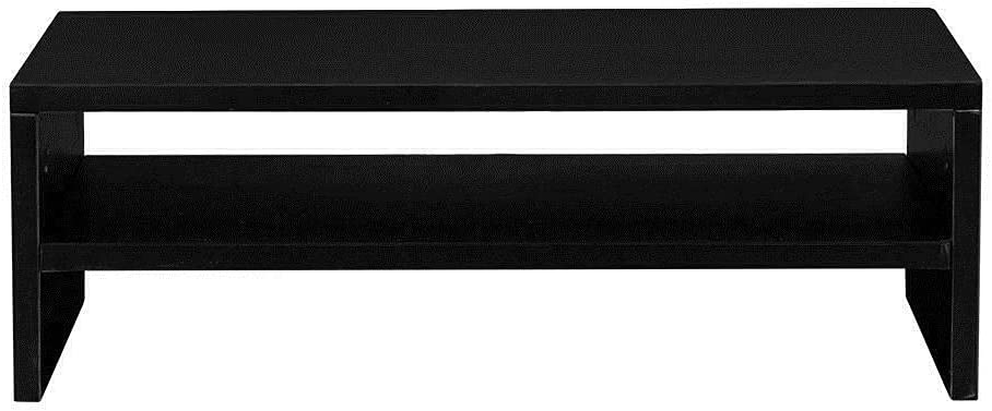 Portable Monitor Stand, Black Office Desk Office Organization Monitor Mount Dual Monitor Stand Monitor arm Computer Stand Monitor Riser Desktop Organizer Dual Monitor Mount Office Accessories