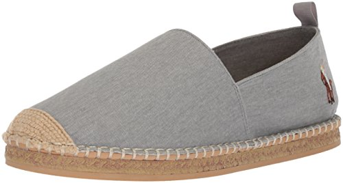 Polo Ralph Lauren Herren Barron Slipper, Soft Grey, 41 EU