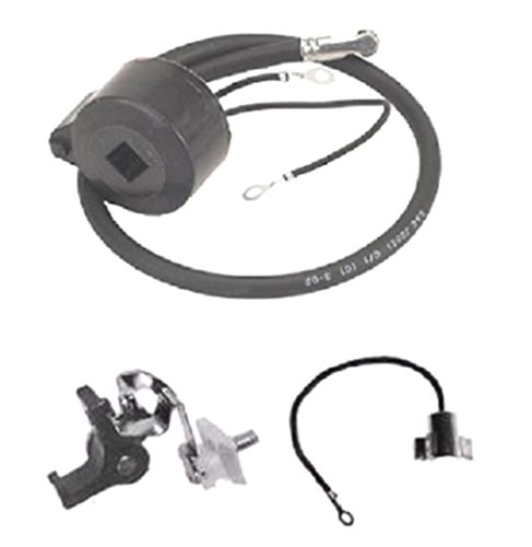 Favorite-trade Ignition Coil/Module w/Ignition Set Points & Condenser for Tecumseh