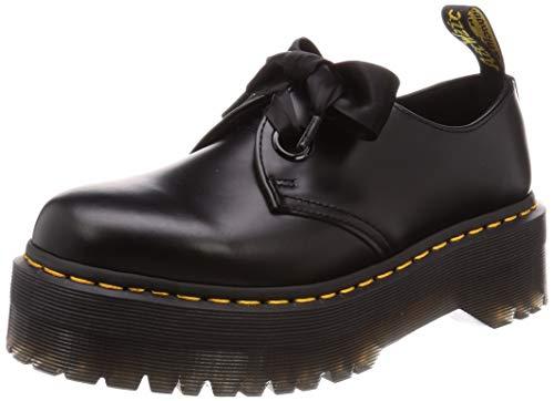 Dr.Martens Mujer Holly Cuero Black Zapatos 39 EU