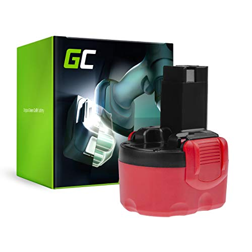 GC (2Ah 9.6V Ni-MH) BAT048 BAT049 BAT100 BAT119 2607335272 2607335461 Batteria per Bosch GDR GLI GSR PAG PLI PSR 9.6VE-2 9,6 VE-2 PSR960 23609-RT 32609-RT Angle Exact