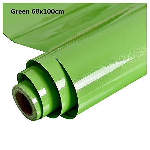 Aqiong CGS2 1M/Roll Glanzend Waterdichte PVC Kast Behang Zelfklevende Contact Papier Kast Voor Deur Meubilair Stickers Badkamer Keuken Landscaping