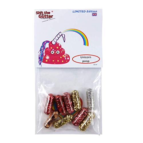 """STG - Unicorn Poop""""Limited Edition"""" / as a Gift/Glitter/Joke Items/Fun/Cheer up/Spring Break/Father's Day/Party/Festival /"""