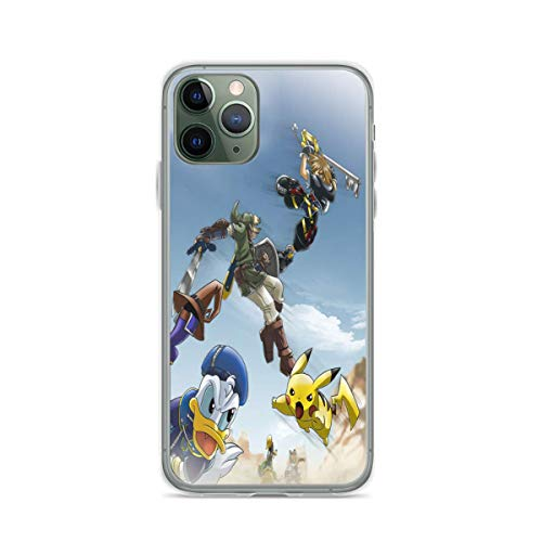 Phone Case KH Dis-ney Kingdom Hearts Mix PKM Compatible with iPhone 6 6s 7 8 X XS XR 11 Pro Max SE 2020 Samsung Galaxy Bumper Waterproof Accessories