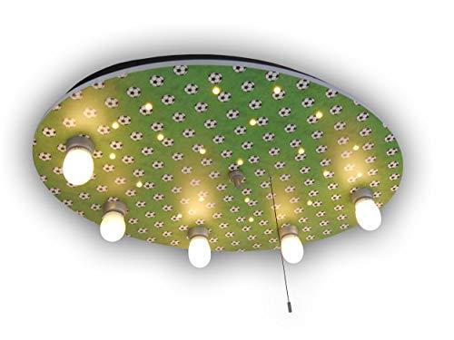Niermann Standby 657 plafondlamp voetballen, meerkleurig