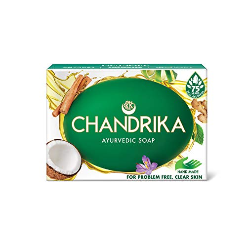Chandrika Ayurveda for Healthy Skin Soap by Chandrika