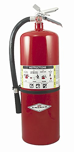 Amerex A411, 20lb ABC Dry Chemical Class A B C Fire Extinguisher