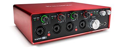Focusrite Scarlett 18i8 2nd Generation 24/192khz 18 in / 18 out USB Audio Interface Renewed B2 (Renewed)
