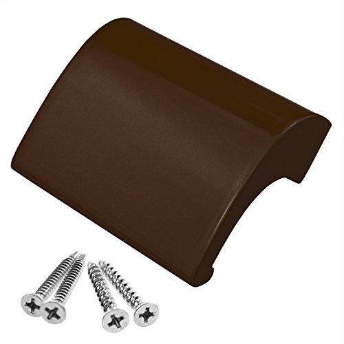 FH-'Stabil' Balkontürgriff Balkongriff Ziehgriff Terrassentürgriff Deluxe - Aluminium - Farbe braun, RAL 8017