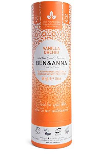 Ben & -Anna - Desodorante de soda - Orquídea de vainilla 1 x 60 g