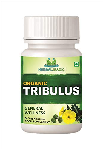 Certified Organic Tribulus Terrestris Gokhru Fruit Powder Veg Capsules/Tablets 960) No Bulking Agents/Additives/Preservatives