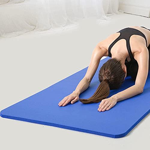 Yumhouse Colchoneta de Gimnasia,Esterilla de Yoga para Hombres y Mujeres, Antideslizante para Danza, Forma Corporal, Fitness-3_185 * 80 * 1.5,Entrenamiento Deportivo