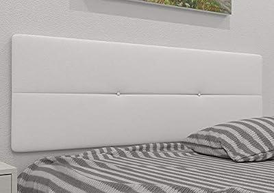 Estructura: Madera MDF con sistema de fijación incluido de herrajes para colgar con regulador de altura, tacos y tornillos Tapizados: Tejidos polipiel ó tela, no desenfundable. Disponemos de 11 colores. Complemento ideal para optimizar su lote de des...