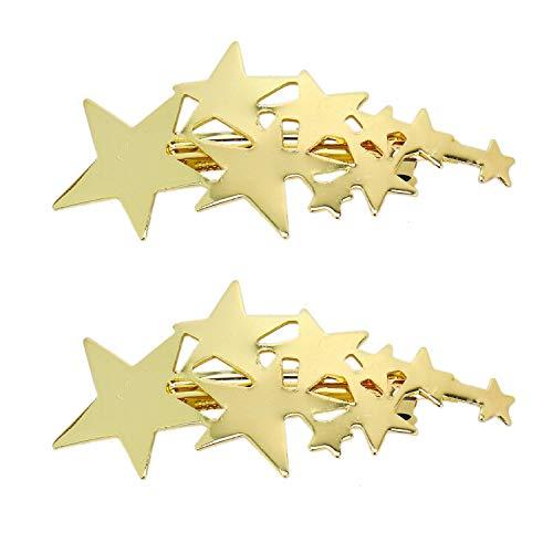 Hair Clip Star Snappy Clip 2pcs
