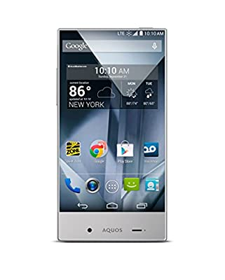 Sharp Aquos Crystal Silver - No Contract Phone