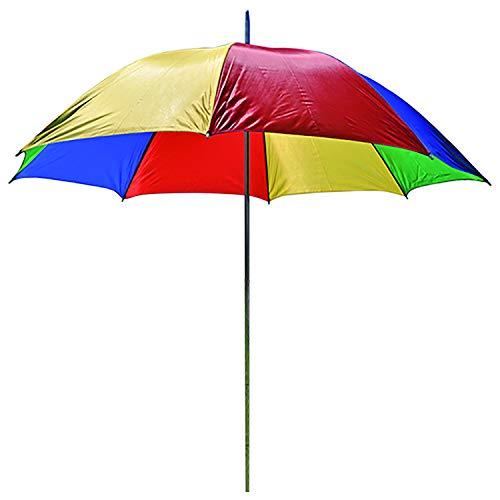 Pluie et de plage parasol avec sac de transport jardin parasol Protection solaire Ø 150 cm x H180 cm