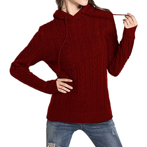 N\P Suéter grande casual mujer ropa suéter con capucha suéter
