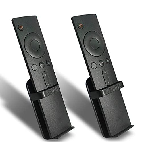 Soporte remoto para TV compatible con Apple TV Siri Remote, Fire TV Stick 4K Remote y Alexa Voice Remote Wall Mount (2 unidades)