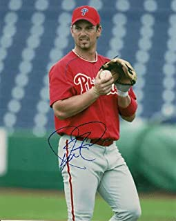 Autographed Signed 8x10 Photo Aaron Rowand Phillies - Certified Authentic