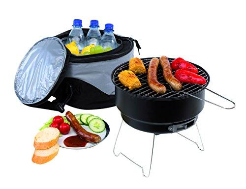 Picknicktasche mit integriertem Grill und Kühlfach Picknickgrill