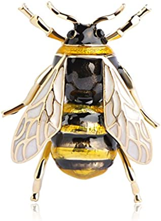 TOOGOO Cute Bee Fly Insect Brooch Clothes Accessories Enamel Brooches Birthday Gifts Jewelry
