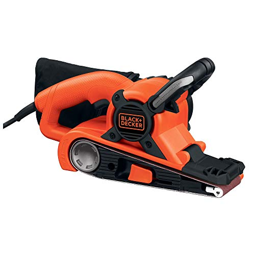 Product Image of the BLACK+DECKER Belt Sander with Dust Bag, 7-Amp, 3-Inch by 21-Inch (DS321)