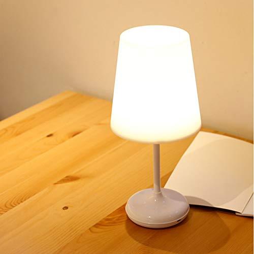 XHSHLID Touch Sensor LED bureaulamp dimbaar nachtlampje met USB-oplader afstandsbediening tafellamp slaapkamer kantoor decoratie van het huis