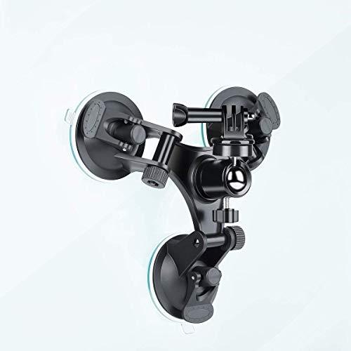 Triple Cup DSLR-Kamera Saugnapf Mount + Universal Adapter + 360° drehbar Adapter für GoPro Hero 5/4/3Nikon Canon Sony DSLR/Camcorder