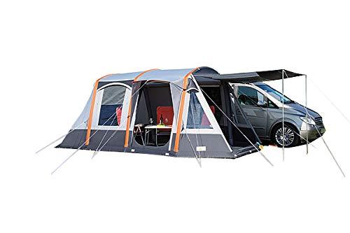 dwt Bus vorzelt Pegasus Air 500x300cm Vorzelt Teilzelt Camping Outdoor aufblasbar Tunnelzelt Air-In-System freistehend Reisezelt