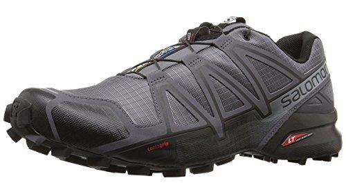 Salomon Herren Speedcross 4 Traillaufschuhe, Grau (Dark Cloud/Black Pearl/Grey), 43 1/3 EU